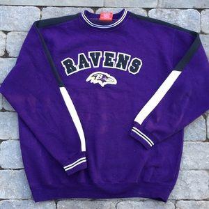 VTG Baltimore Ravens sweatshirt, XL
